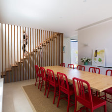 Contemporary Dining Room by Grieve Gillett Dimitty Andersen Architects