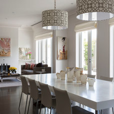 Contemporary Dining Room by Andrew Frost Interiors