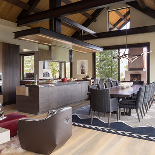 Charmant 75 Beautiful Rustic Dining Room Pictures U0026 Ideas | Houzz