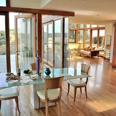 Contemporary Dining Room by Jay Vanos Architects