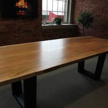 Toronto Live Edge Wood Dining Room Tables