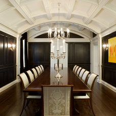 Traditional Dining Room by Heintzman Sanborn Architecture~Interior Design
