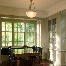 Traditional Dining Room by Heintzman Sanborn Architecture~Interior Design