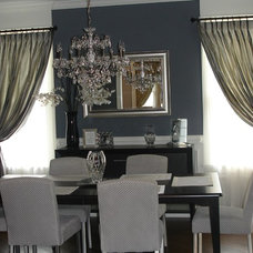 Traditional Dining Room by Total Window Treatments