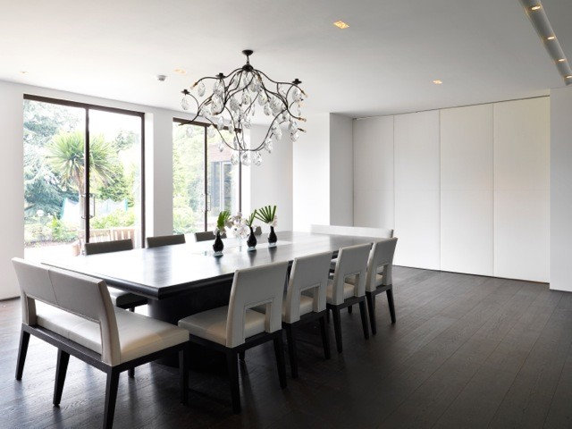 Contemporary Dining Room by Gregory Phillips Architects