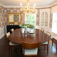 Traditional Dining Room by Town & Country Interiors LLC
