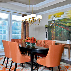 Traditional Dining Room by Andrea Robinson Interior Design