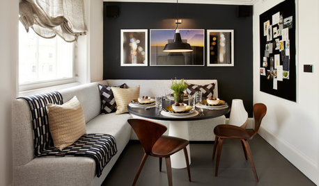 How to Squeeze in a Dining Space Anywhere