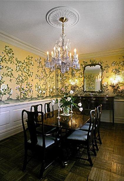Traditional Dining Room by Tobin + Parnes Design Enterprises
