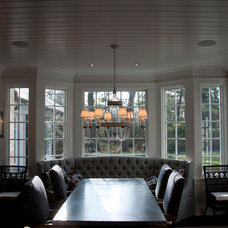 Traditional Dining Room by Hooked Up Installs, Inc