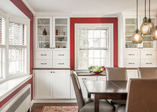 Transitional Dining Room by KitchenVisions