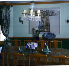 Eclectic Dining Room by Tracy Murdock Allied ASID