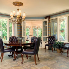 Traditional Dining Room by Periwinkle Designs