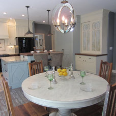 Traditional Dining Room by The Design Element