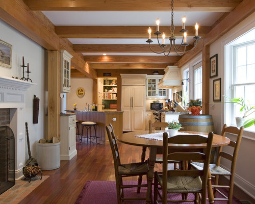 colonial dining room design ideas, remodels & photos