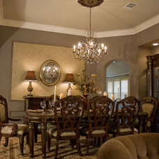 Traditional Dining Room by Adentro Designs