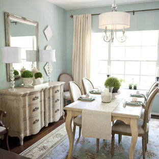 Example Of A Clic Dining Room Design In Houston
