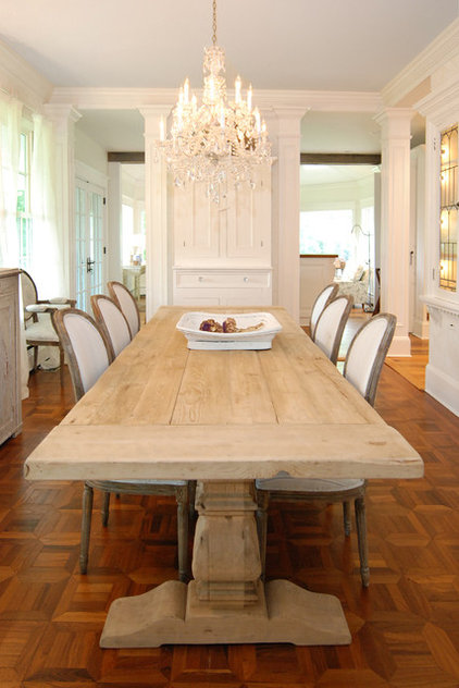 traditional dining room by AMI Designs