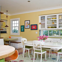 traditional dining room by Ana Williamson Architect