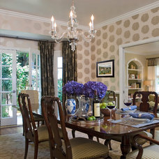 Traditional Dining Room by Annette English