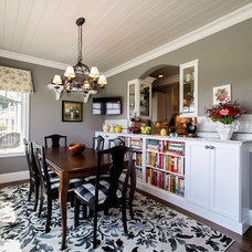 Traditional Dining Room by Bay Area Contracting, Inc.