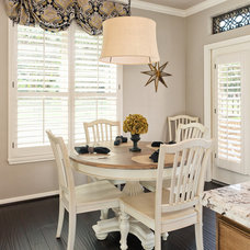 Traditional Dining Room by Brickhouse Construction, LLC