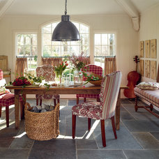 Traditional Dining Room by Calico