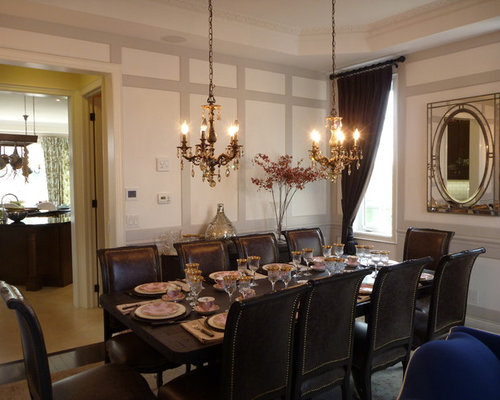 Two Chandeliers Over Dining Table Home Design Ideas