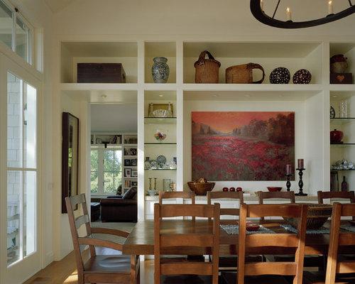 Dining Room Open Shelving | Houzz
