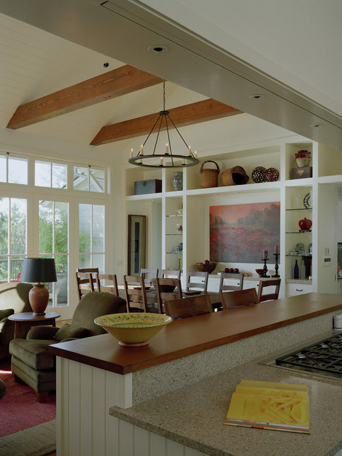 combined kitchen and dining room | Kitchen Dining Room Combination | Houzz
