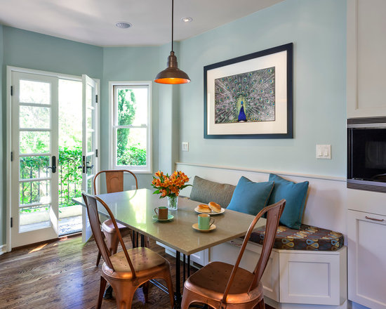 peacock dining room design ideas, remodels & photos