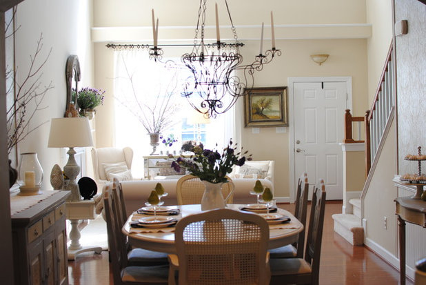 Houzz Tour Traditional Style Townhouse In Colonial