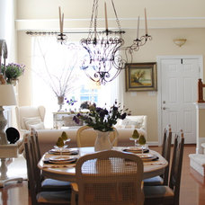 Traditional Dining Room by Dear Lillie
