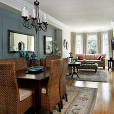Traditional Dining Room by Design Excellence