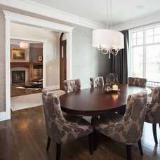 Traditional Dining Room by Maillot Homes