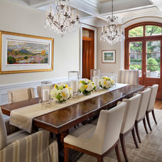 Traditional Dining Room by Sorento Design, LLC.
