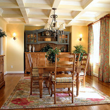 Traditional Dining Room by Village Design Group