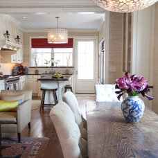 Traditional Dining Room by Amanda Austin Interiors