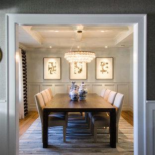 Elegant dining room photo in San Francisco