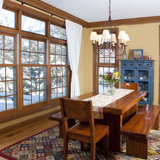 Traditional Dining Room by Focal Point Photography LLC