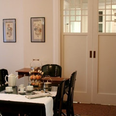 traditional dining room by flott home design