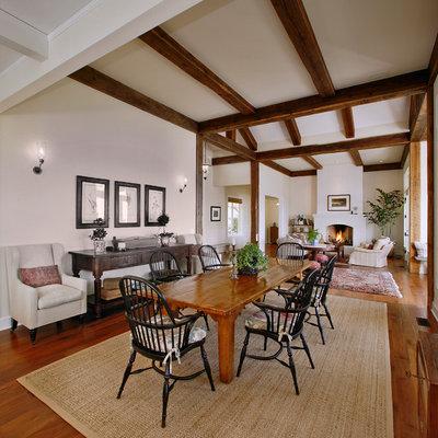 Elegant great room photo in Santa Barbara