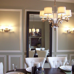 traditional dining room by Grace Blu Designs, Inc.