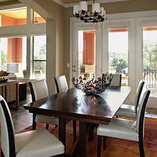 Traditional Dining Room by Laura Britt Design