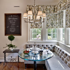traditional dining room by Kim E Courtney Interiors & Design Inc
