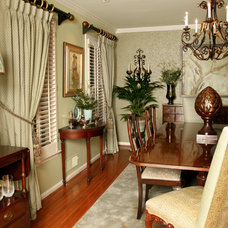 Traditional Dining Room by Robinson Interiors