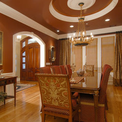 traditional dining room by Indivar Sivanathan