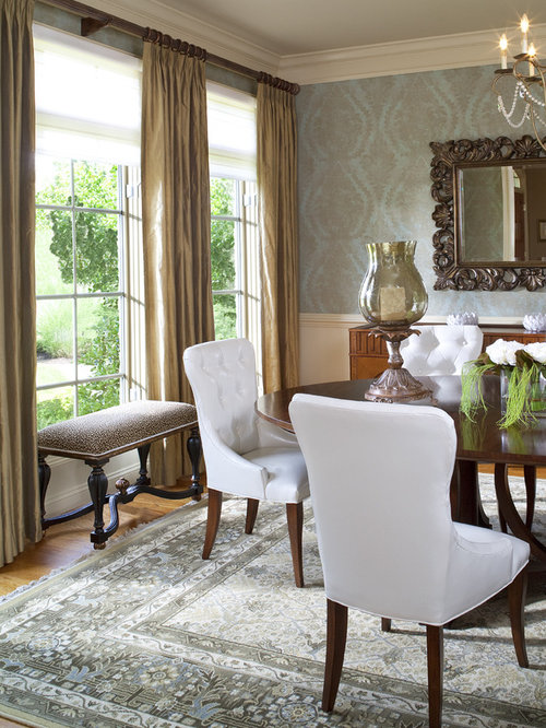 Unusual wallpaper home design ideas pictures remodel and for Quirky dining room ideas