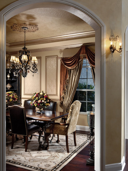 Dining Room Curtains Home Design Ideas, Pictures, Remodel ... on Dining Room Curtain Ideas  id=50536
