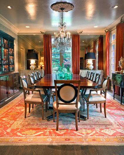 Traditional Dining Room by Jason Arnold Interiors